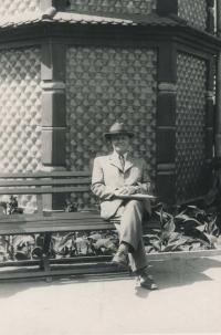 Dědeček Otakar Volman (1947)
