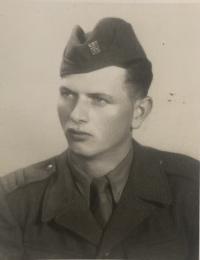 Vincent Hollý as a soldier