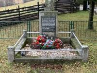 mass grave of fallen partisans, Fackov pass 25th September 1944, detail