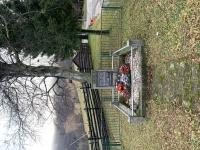 mass grave of fallen partisans, Fackov pass 25th September 1944