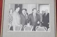Setkání s prezidentem Václavem Havlem v Lánech, 90. léta 20. století