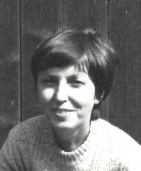 Vlasta Maněnová, Hrádeček, 1982
