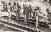 Naloďování Američanů v Koreji po uzavření příměří v roce 1953