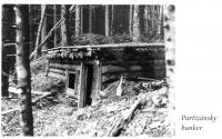 partisan bunker in Rajecka valley