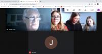Online rozhovor s panem Tomášem Kulkou v rámci projektu Příběhy našich sousedů