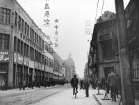 Tchien-ťin v roce 1958. Hana Hamplová zde jako dítě s matkou a bratrem doprovázela otce na služební cestě (1956-1958).