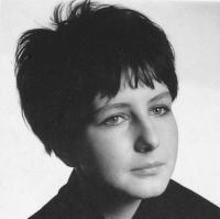 Hana Hamplová v roce 1969