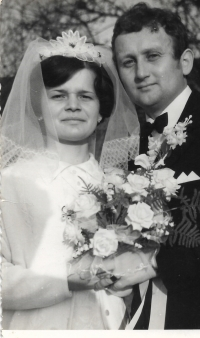 1970 svatba Václava Herouta