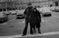 Hana Hamplová s Martinem Vadasem na festivalu dokumentárních filmů v Lipsku (1978)