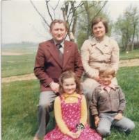 1979 rodina Václava Herouta