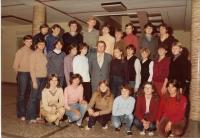 1982 se žáky daruvarské střední školy