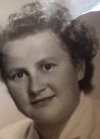 Anna Butová, dobové foto