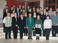 2002 kolektiv profesorů gymnázia Daruvar a školní výbor