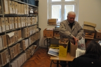 Archiv v České besedě v Daruvaru