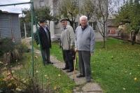 Bývalí partyzáni bratři Vostřelové, zleva Miroslav a Eduard