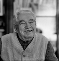 Jaroslav Seifert na snímku z roku 1981