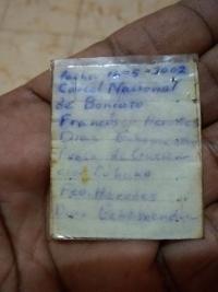 Echemendíovy poznámky v Boniatu z května 2002