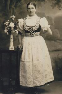 Babička pamětnice, Rosálie Žáková
