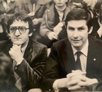 S hádzanárskou legendou Jánom Kecskeméthym v 80. rokoch, ktorý bol trénerom holandského národného mužstva, Igor Bielik izraelského