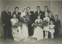 Svatební fotografie Marie Pucharové