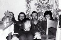 Na vysokoškolské koleji ve Varšavě, druhá polovina 70. let