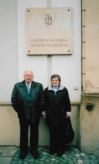 V roce 2007 v Olomouci před obhajobou doktorátu