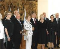 V roce 2015 s ministrem Zaorálkem při udělení Ceny Gratias agit