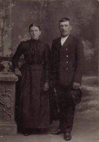 Babička a dědeček Žákovi
