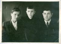 Vladimír s matkou a otcem