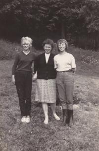 S dcerami, cca 1965