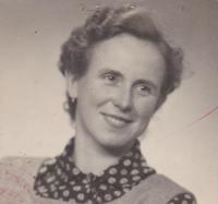 Anna Smržová, cca 1968