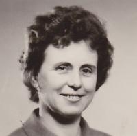 Anna Smržová v polovině 70. let