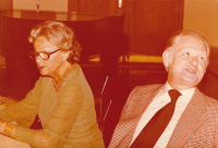 Beseda sAdinou Mandlovou a krajany, 70.-80. léta