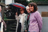 Lída Baarová, František Goldschneider, Kolín nad Rýnem, Kulturní středisko Ignis, jaro 1989