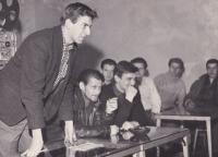 Beseda srežisérem, Cheb (filmový klub), cca 1957