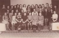Rodinná škola v Hronově, kde A. Smržová dva roky studovala