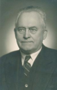 Josef Štifter, dědeček pamětnice, cca v roce 1940