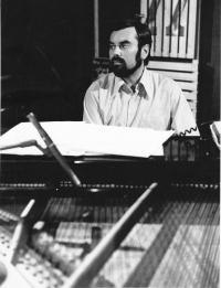 Karel Růžička – klavírista a nejlepší kamarád Miloše, Praha 1979