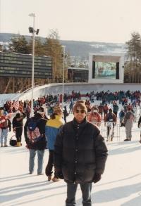 Miloš na ZOH (Zimní olympijské hry) v Lillehammeru, Norsko