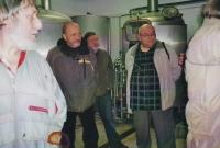 Miloš na exkurzi v pivovaru v Mutějovicích, 2011