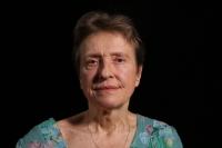 Marta Holeková při natáčení
