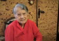 Albertina Farská při natáčení v únoru 2021