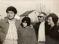 Rodina Kostova v Německu, r. 1972