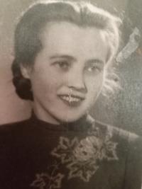 Halyna Ustymivna Hordienko, 1950