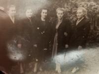 Rok 1952 ve Vinnici, Halyna Ustymivna Hordienko druhá zleva