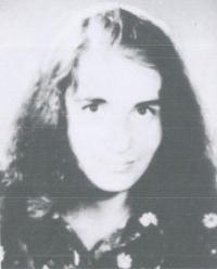 Angelika Grassme v roce 1972, po několika schůzkách se Stasi