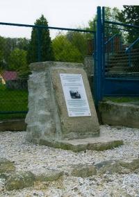 Památník na místě bývalého evangelického hřbitova, Aš