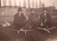 Jaroslav Ryvol (vpravo) v 50. letech
