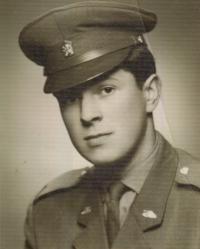 Ladislav Jakub ve vojenské škole