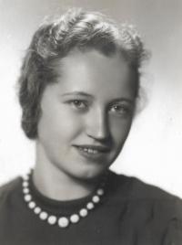 Matka pamětnice Lydie Štifterová 1939